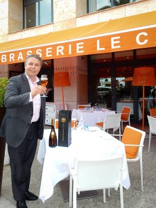 Brasserie le Cap Restaurant Manager Stephane Richard  proud to present Neuschwansteiner